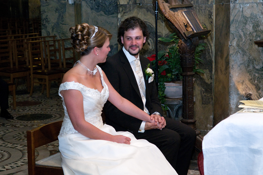 Hochzeit im Aachener Dom