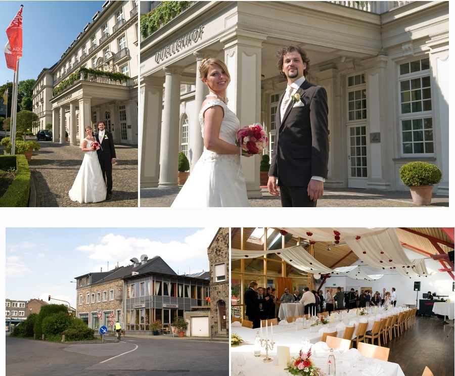 Hochzeitsfotograf Aachen: Hotel Quellenhof