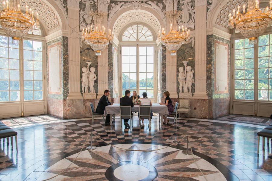 Schloss Benrath Cafe