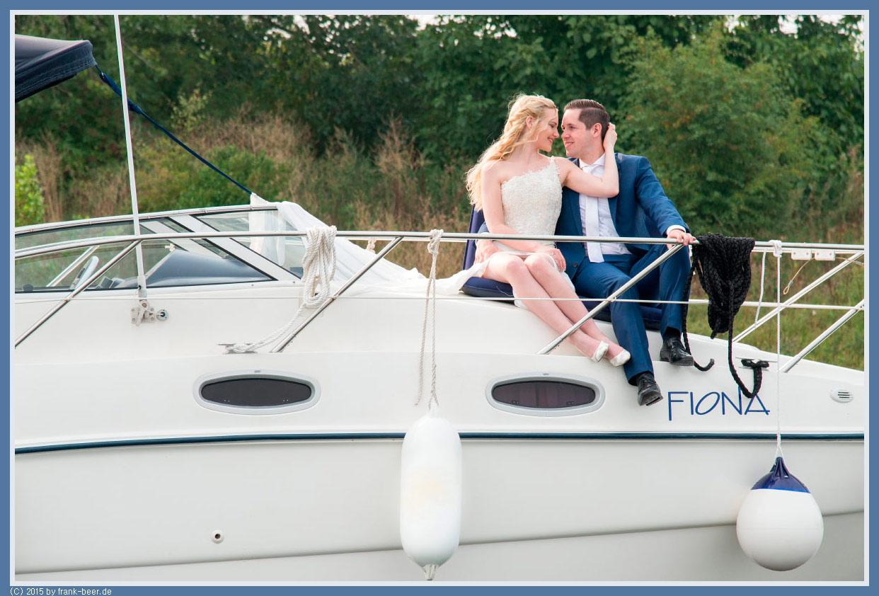 Maritime Hochzeitsfotos