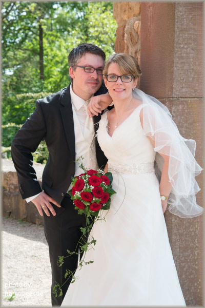 Hochzeitsfotos <br /> Schloss Burgau Düren